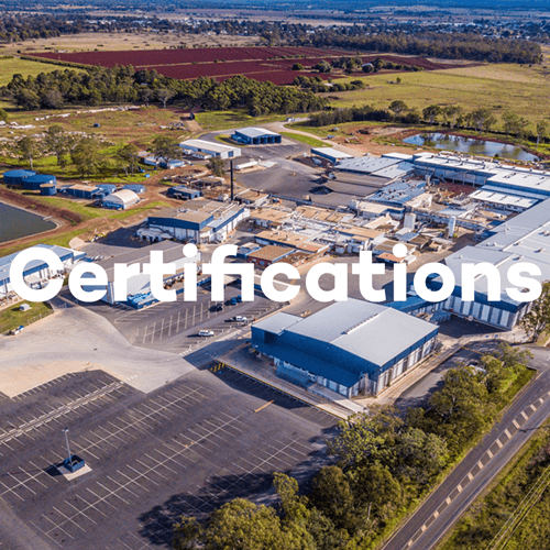 About SunPork - Our Site Certifications - 100% Australian Pork Supplier
