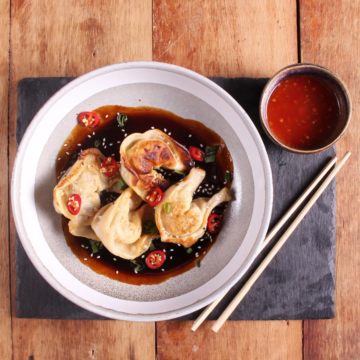 Pork Belly Dumplings - SunPork Pork Belly