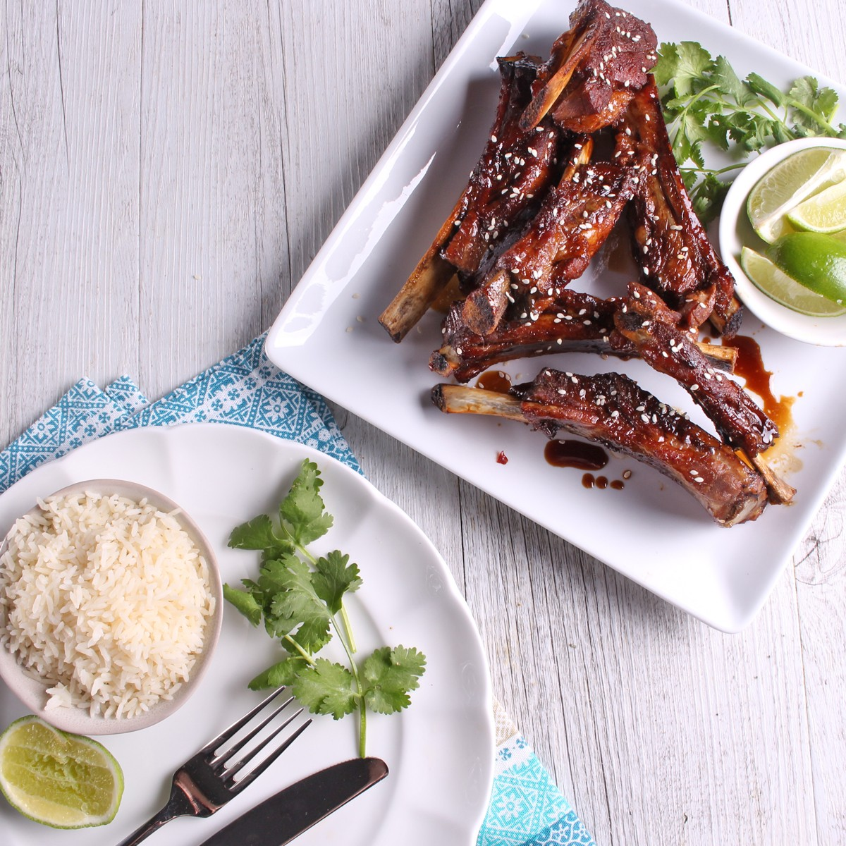 Honey, Soy and Ginger Glazed Pork Ribs - SunPork Loin Ribs