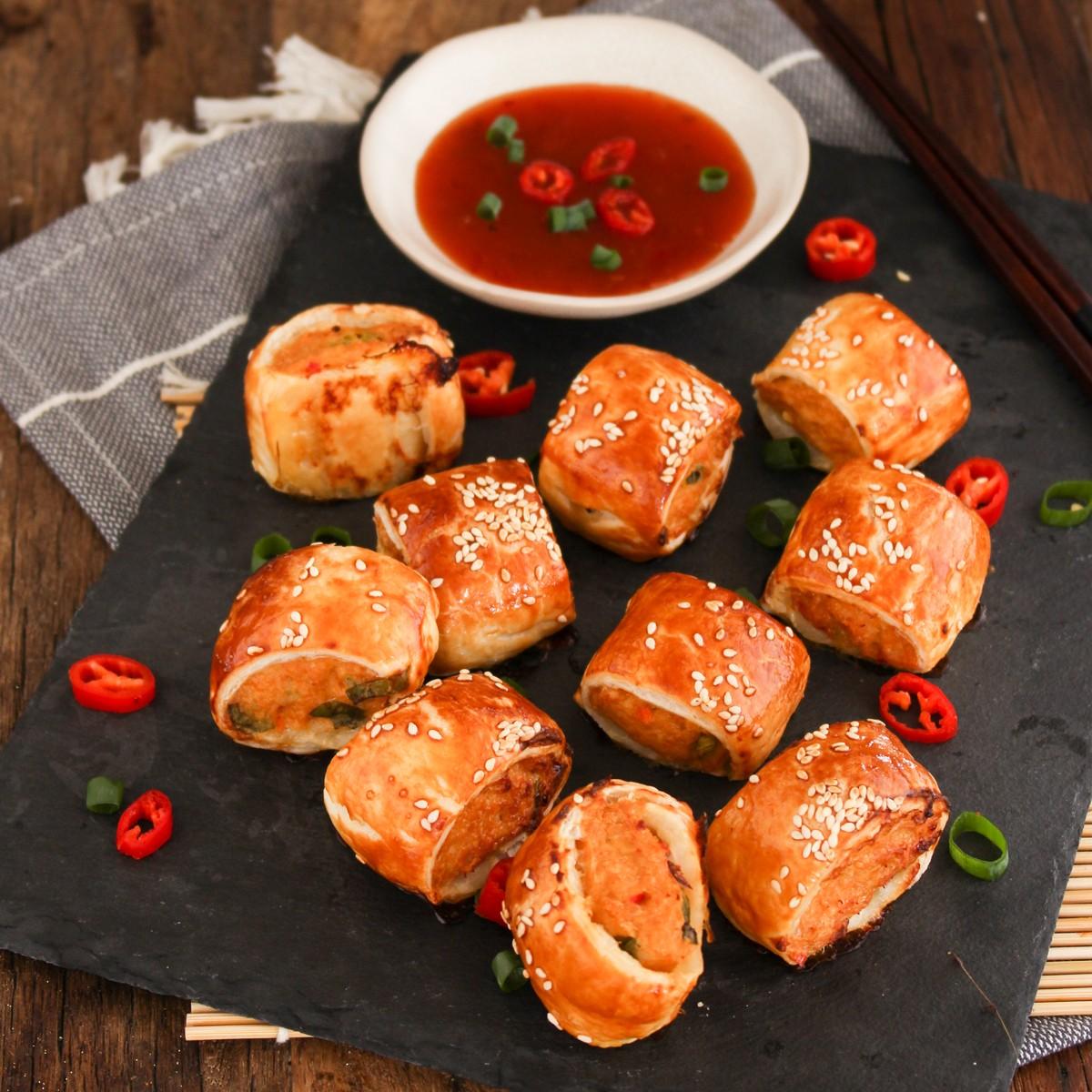Thai Pork Sausage Rolls - SunPork Mince