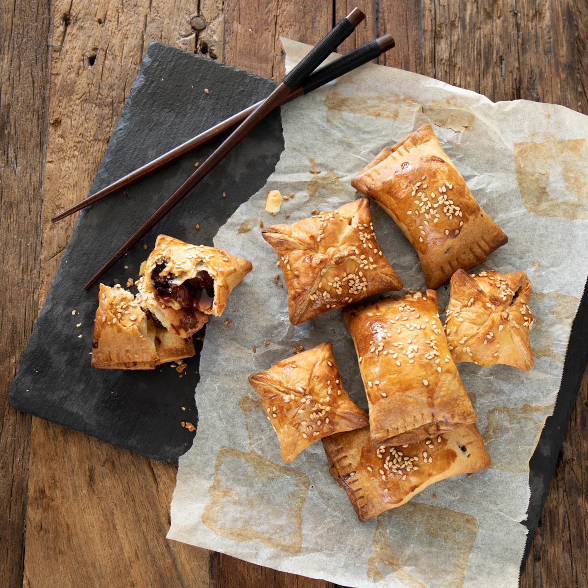 Char Siu Pork Puffs