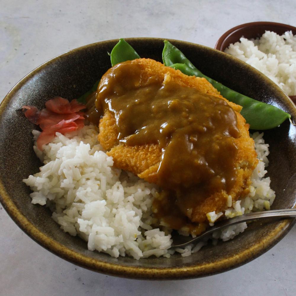 Pork Katsu Curry - Pork Schnitzel