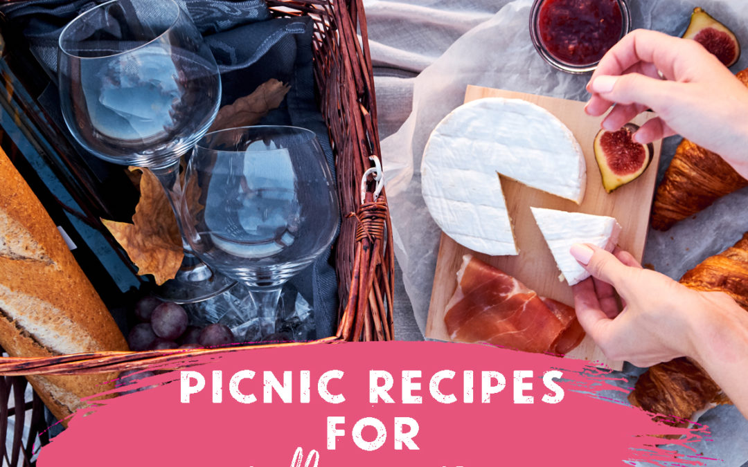 4 Perfect Recipes for your Mothers Day Picnic Lunch
