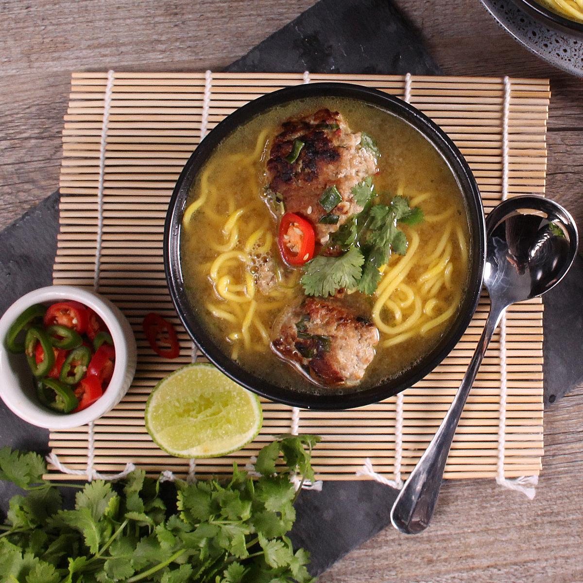 Ginger noodle soup - website