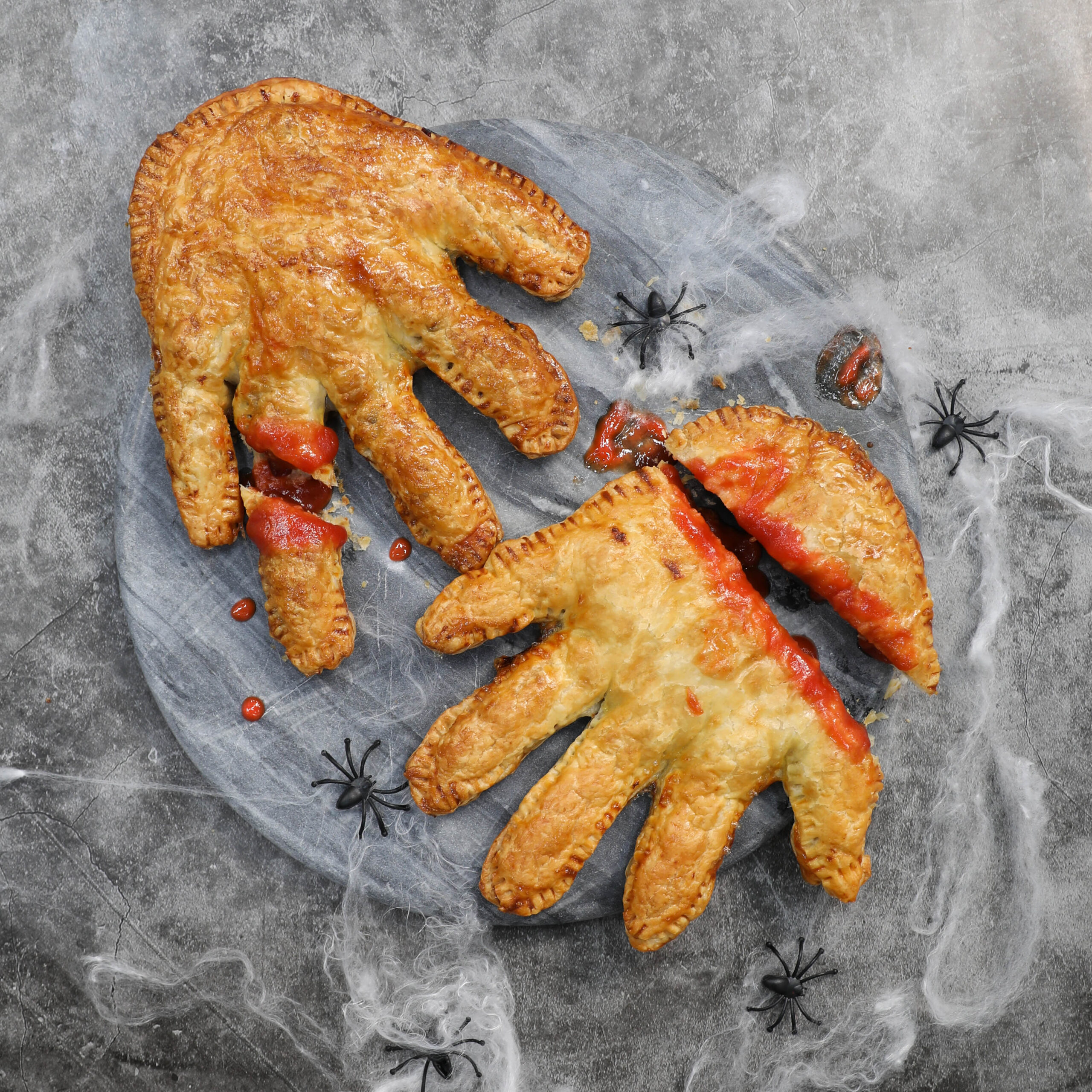 Halloween Sausage Roll Hands- Pork Mince