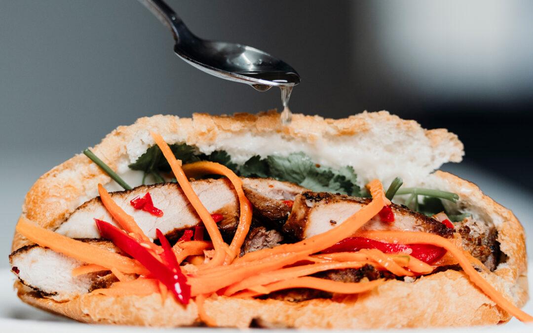 Vietnamese Style Pork Bahn Mi
